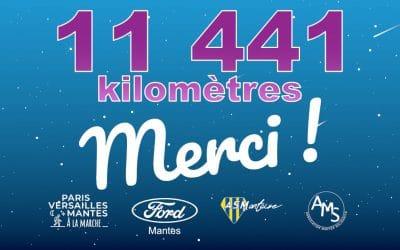10 000 km Pour les marcheurs du «Paris-Versailles-Mantes X Ford Mantes»