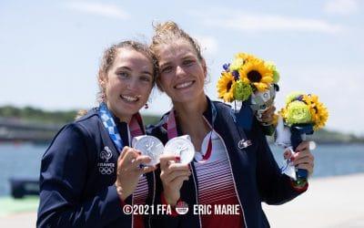Claire BOVÉ est vice-championne olympique !!!