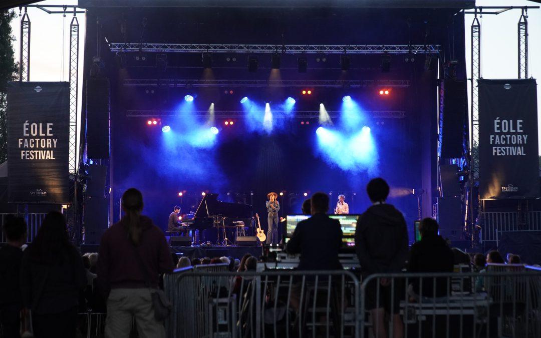 Retour sur le Eole Factory Festival 2021
